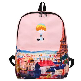 1cdf332c75cb Girls Women Canvas School Bag Travel Backpack Satchel Shoulder Bag Rucksack  Children School Bags Backpack for Teenager Girls
