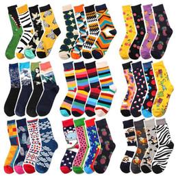 Wholesale mens funny socks for sale – custom Mens Womens Colors Funny Socks Hip Hop Animal Alien Chili Novelty Socks Cotton Funny Socks