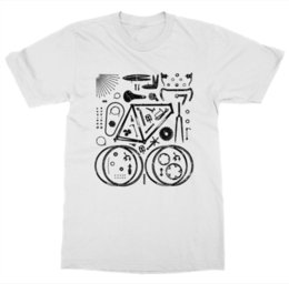 $enCountryForm.capitalKeyWord NZ - Parts T-Shirt Bike Pedal Ride Cycling Spin Gear Wheel Saddle Race Chain BicycleFunny free shipping Unisex Casual Tshirt