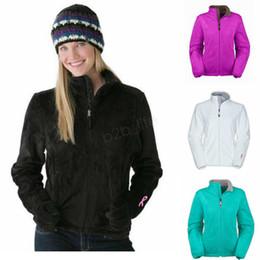 SportS jacket fur online shopping - Winter Female Fleece Jackets hooded plush Ribbon Warm Women coat Windproof Outdoor Casual SoftShell Down Sports Hoodie sweatshirt LJJA2795