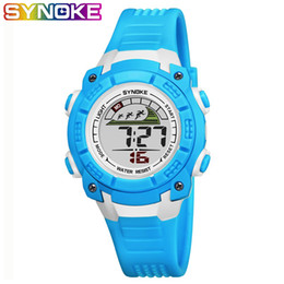 SYNOKE Student Sport Children Watch Electronic Orologio da polso Kids Watches Boys Orologio da bambino LED digitale da polso per ragazzo regalo