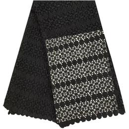 $enCountryForm.capitalKeyWord Australia - New design Nigerian lace Black Fabric 2018 African Cord Lace Fabric High Quality Guipure Cord Lace Fabric For Wedding Dress 1013
