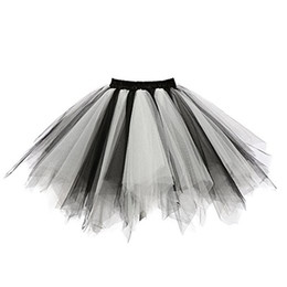 Fashion tutu skirts For adults online shopping - 2019 Fashion New Skirts For Womens Mini Tulle High Quality Pleated Gauze Colours Short Skirt Adult Tutu Dancing Skirt Saia Jupe
