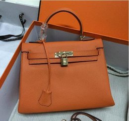 $enCountryForm.capitalKeyWord NZ - 32CM 28CM 25CM 2018 New Famous Brand H K Totes bags luxury women Genuine leather Bags Fashion lady Handbag wholesale High Quality Real Image