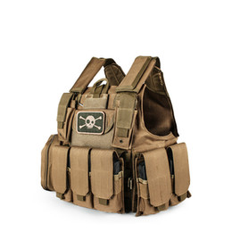 $enCountryForm.capitalKeyWord Australia - New Tactical Vest Molle Combat Assault Plate Carrier Tactical Vest 12 Colors CS Outdoor Clothing Hunting