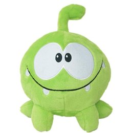 Kids memory games online shopping - 1pc cm Hot Game Cartoon Cut The Rope Om Nom Frog Stuffed Animal Plush Toys Kids Toys Children Collection Gift