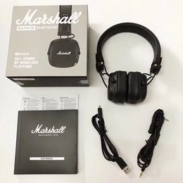 $enCountryForm.capitalKeyWord Australia - Newest Marshall Major III 3.0 Bluetooth Headphones Wireless Headphones Earphones Foldable On Ear Stereo Bass Driven Sound for iPhone