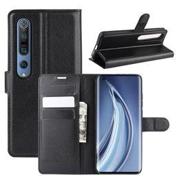 Wholesale For Xiaomi Mi Mi Pro Litchi Texture Horizontal Flip Protective Case with Holder Card Slots Wallet
