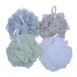 Sponge Balls UK - 60g Big Bath Shower Sponge Pouf Loofahs Mesh Body Shower Ball Back Brush Remove Dead Skin Bath Brush