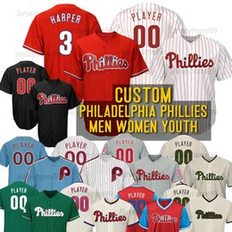 09d0babcc Bryce harper jersey youth online shopping - Custom baseball Jerseys Bryce  Harper Man Women Youth Kid