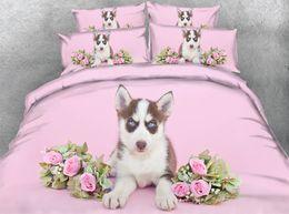 $enCountryForm.capitalKeyWord Australia - Husky Bedding Twin Pink Floral Duvet Cover King Flower Bedspreads Full Size Bed 3pc NO Comforter Pillowshams