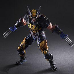 $enCountryForm.capitalKeyWord Australia - PLAY ARTS 26cm Marvel X-MEN Wolverine PVC Action Figure Model Toys