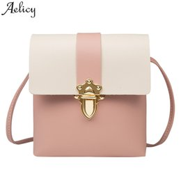 $enCountryForm.capitalKeyWord NZ - Cheap Fashion Aelicy Girl Shoulder Bag Leather Ladies Messenger Bags Plug Lock Crossbody Designer for women 2019 bolsa feminina