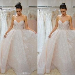 Hot sexy brides online shopping - Long Tulle Sleeveless A Line Sweetehart Bride Wedding Dress Bridal Wear robe de marriage Hot Sales