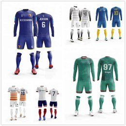$enCountryForm.capitalKeyWord Australia - 2019 Outdoor Arrival Hot College Wears Football Team Jerseys Football Sport Wear Soccer Kits For Kid Running Training Football Tracksuit