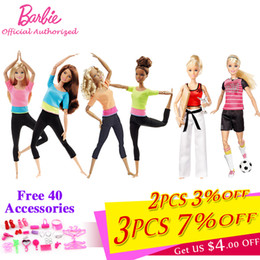 barbie birthday Australia - Barbie Brand Limited Collect 3 Style Fashion Dolls Yoga Model Toy For Little Baby Birthday Gift Barbie Girl Boneca Model DHL81 SH190909
