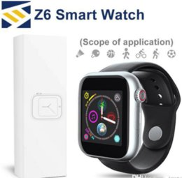 $enCountryForm.capitalKeyWord Australia - Newest Z6 Smartwatch For Apple Iphone Air Smart Watch Bluetooth 3.0 Watches With Camera Supports SIM TF Card For Android Smart Phone