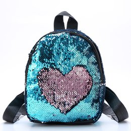 Cute Backpacks For Teenage Girls Australia - 2019 Child Sequins Backpack Cute Simple Schoolbag For Teenage Student Girls Satchel Female mochila de couro Packpack School Bag Rated 4.8