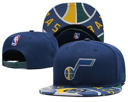 Hat Two Balls Australia - Men's Women's Jazz New Navy Green Two-Tone 9FIFTY Snapback Ball Caps Adjustable Black Hat