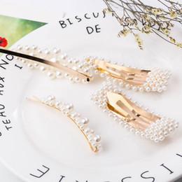 $enCountryForm.capitalKeyWord Australia - 2019 Pearl Hair Clips Fashion Large Hairpins Bridesmaid Barrette for Women Girl Handmade Hair Accessories for Party Wedding Daily Gift M047F