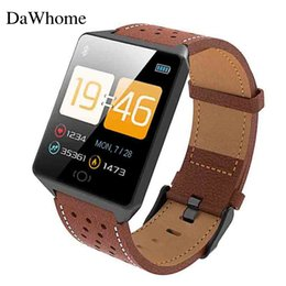 brown tempered glass UK - Smart Watch CK19 IP67 Waterproof Tempered Glass Heart Rate Monitor Blood Pressure Fitness Tracker Men Women Smartwatch Lady Male