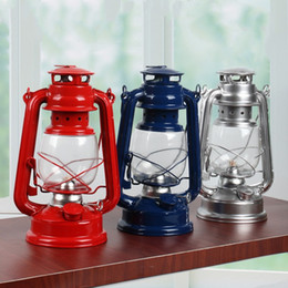 Lamp kerosene online shopping - Retro Classic Kerosene Lamp Kerosene Lanterns Wick Portable Lights Outdoor Tent Camping light Emergency Lamp Home Decoration