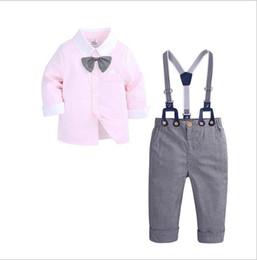 $enCountryForm.capitalKeyWord Australia - Baby Sets 80-100 Kids Cardigan Coats Pants 2Pcs sets Children Sports Sets Rainbow Zipper Long Sleeve Colorful Striped design Summer Suit