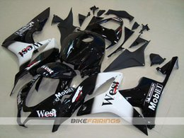 $enCountryForm.capitalKeyWord Australia - New ABS Injection Molding motorcycle Fairings Kits 100% Fit For Honda CBR600RR F5 07 08 2007 2008 fairings bodywork set nice Bright black