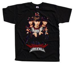 Babymetal V2 Японская Группа, футболка (черный) S-5xlmens 2018 модный бренд футболка О-образным вырезом 100%хлопок футболки топы тройник на Распродаже