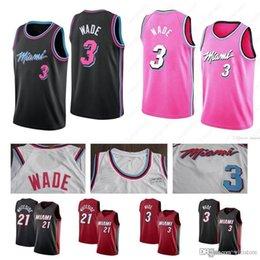 2019 Cheap Miami CITY Heat EDITION jersey 3 Wade 7 Dragic 21 Whiteside  stitched whosale Dwyane Hassan Dwayne Goran basketball jerseys 533b9e31c