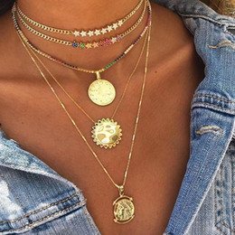 Statement Chain Multi Australia - 2018 Christmas Gift Rainbow Multi Color Star Charm Link Chain Choker Gorgeous Women Statement Necklace Cuban Chain Chocker Y19050802