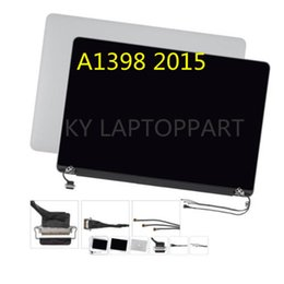 a1398 apple Australia - Free Shipping From China For Apple MacBook Pro A1398 EMC 2909 2910 Retina LCD Laptop Screen Assembly Mid 2015 MPN 661-02532