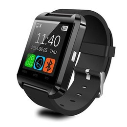 $enCountryForm.capitalKeyWord Australia - Bluetooth U8 Smartwatch Wrist Watches Touch Screen For iPhone 7 Samsung S8 Android Phone Sleeping Monitor Smart Watch With Retail Package