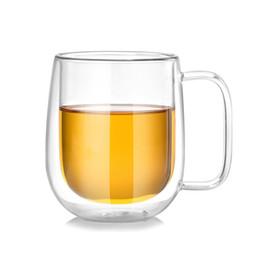 $enCountryForm.capitalKeyWord Australia - 250ML Heat Resisting Double Wall Layer Glass Tea Coffee Juice Mug Water Wine Galsses Drink Cup With Handle