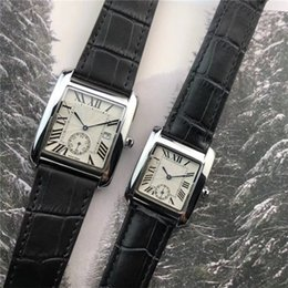 Korean couple glasses online shopping - Simple and ultra thin Korean version of cool fashion couple watches a consideration retro couple Shi Ying watch fashion men s and women s wa