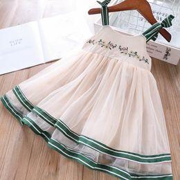 $enCountryForm.capitalKeyWord Australia - New 2019 Summer girls dresses embroider kids Princess Dresses Girls slip dress lace girl dress Kids Designer Clothes Girls clothes A4651