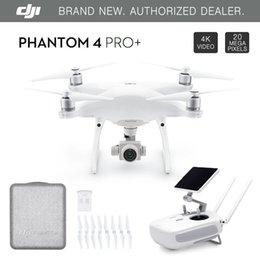Venta al por mayor de Precio de fábrica !!! DJI Phantom 4 Pro / Pro + Drone con la cámara 4K HD 1 pulgada 20MP Dirección de obstáculos sistema de detección de Quadcopter GPS