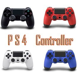 Station Wireless Controllers Australia - Bluetooth Wireless PS4 Controller for PS4 Vibration Joystick Gamepad PS4 Game Controller for Sony Play Station With box MIX