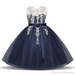 $enCountryForm.capitalKeyWord NZ - Children Homecoming Dress Princess Girl Formal Dresses Junior School Frocks Costume Girls Party Birthday Outfits Gowns Tulle Lace Clothes 8T