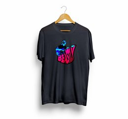 China Beastly Bass Vulfpeck Joe Dart Guitar Vintage Men & Women T-Shirt T Shirt TeesFunny free shipping Unisex Casual Tshirt cheap black color guitar suppliers