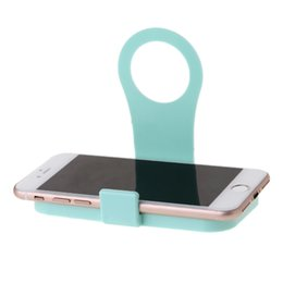 Discount folding mobile phone stand - Folding Mobile Phone Wall Charger Adapter Charging Holder Hanging Stand Bracket Support Charge Hanger Rack Shelf Cell Ph