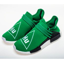 ea736a74fa16b Top Quality the Same As The Original And DHL Fast Shipping Unisex Pharrell  Williams x NMD Human Race Green BB0620 Real Boost