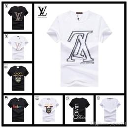For Famous Brand Clothes Australia - 18ss luxury designer brand summer tee t shirt little monster for men letter embroidery famous luxury short sleeve clothing