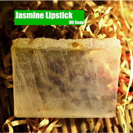 Natural Treatment For Acne Australia - Natural Jasmine Refreshing Oil Control soap by Handmade perfume Oil soap Beauty Health Lipstick soap for men and women