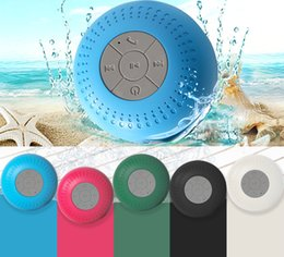 $enCountryForm.capitalKeyWord Australia - New Mini Portable Subwoofer Shower Waterproof Wireless Bluetooth Speaker Car Handsfree Receive Call Music Suction Mic For iPhone Samsung Top