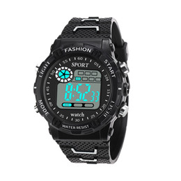 $enCountryForm.capitalKeyWord Australia - Top Band Sports Electronic Watch LED Display Casual Style Wrist Watch for Male