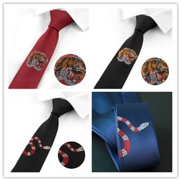 Chinese  High Quality Mens Neck Tie Accessories Necktie Fashion Designer Men Silk Ties for Men Business Casual Tie manufacturers