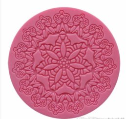 Fondant Flowers For cakes online shopping - Crown Flower Shape Silicone Cake Mold Bakeware Mold For Cupcake Chocolate Soap D Fondant Cake Decoration Tools