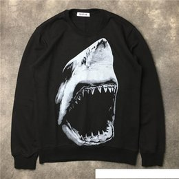 $enCountryForm.capitalKeyWord Australia - 2017 Autumn winter brand men Hoodies Casual sports Long sleeve sweatshirt men shark tooth printing pullover coat jacket