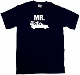 560f00c3b Mr Tow Truck Silhouette Logo Mens Tee Shirt Pick Size Color Small-6XL funny  100% Cotton t shirt